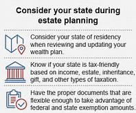 Estate planning jurisdiction